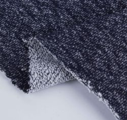 55% Пеньки 45% биохлопка французский Терри из ткани