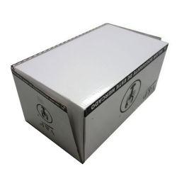 Большой белый креветки картонной упаковки с омарами украшения
