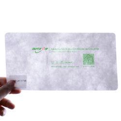 Tyvek бумаги используется для крышки багажника медицинской упаковки в Китае