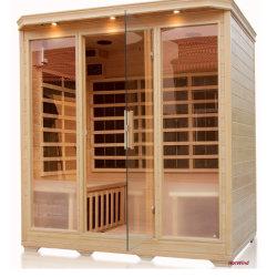 Painel de fibra de carbono Fir Sauna Aquecedores de infravermelhos para 4 Pessoa