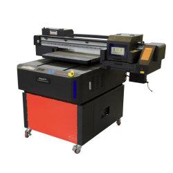 طابعة XP600 Varnish 6050 صغيرة الحجم تعمل بالأشعة فوق البنفسجية UV مقاس A2 لبلاستيك نقل زجاجات علبة الهاتف المعدنية الخشبية الأكريليك الصلبة رسم حائط على لوحة من قماش الجص