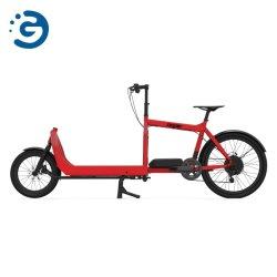 Bicicletta elettrica del grande contenitore di legno di Tri-Carico I con la doppia batteria