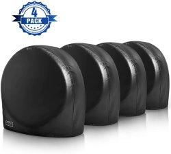 As tampas dos pneus para caminhonetes roda abrange um conjunto de 4 à prova de Sol UV Protector da Roda do Pneu resistente tampa do pneu de vinil Auto Acessório de Peça