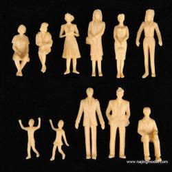 1: 25 schaal Skin Model People Wit ongeverfd figuur