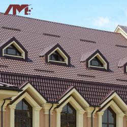 Material de construcción de la pared exterior recubierto de piedra de teja con la norma ISO