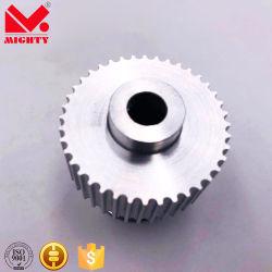 標準アルミニウム鋼鉄まっすぐな穴のタイミングプーリー車輪