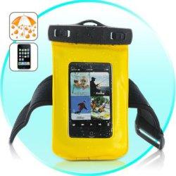 Boîtier étanche pour l'iPhone, iPod Touch, Smartphones Android, lecteurs MP4 (jaune)