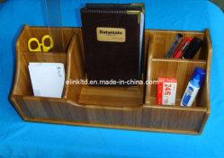 Бамбук многофункциональный письменный стол ручной работы из дерева на кухне Houseware хранения данных органайзера для управления