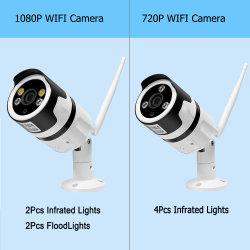 Ночное видение TF карты памяти для хранения водонепроницаемая IP67 1080P безопасности WiFi Bullet 12V IP камеры CCTV