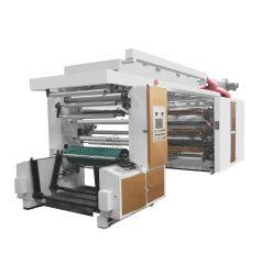 Changhong Brand 4/6 Color High Quality Flexo/Flexographic Printer for Paper والطباعة غير المحبوكة