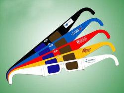 ورق نظارات ثلاثية الأبعاد (ألوان)