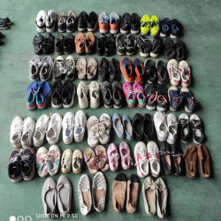 혼합 스타일 믹스 컬러 값싼 어린이 중고 스니커 신발 스톡(FF20915-2)