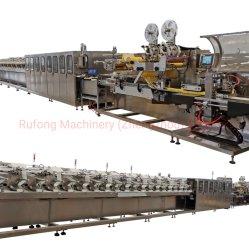 El alcohol de alta velocidad automático CE las toallitas húmedas de bebé máquina de fabricación de tejidos