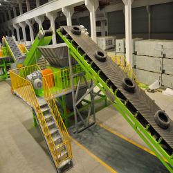 Los neumáticos de caucho automática máquina de reciclaje de residuos para la fabricación de polvo de caucho