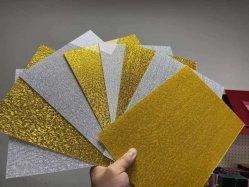 3mm 4X8 FT Gold/silbernes Gewebe-Acrylblatt für Wand-Dekoration