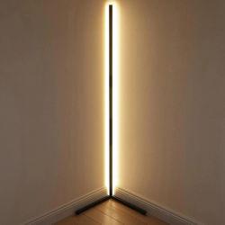 관 거실 훈장을%s 가벼운 새로운 디자인 검정 RGB 먼 LED 코너 전기 스탠드
