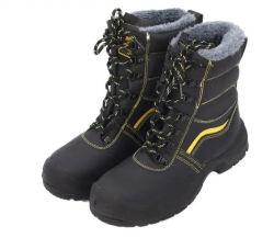 حذاء من الجلد العلوي من الصلب لأحذية السلامة في فصل الشتاء