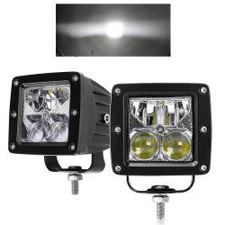 """LED quadrato Combo Beam luce di guida ausiliaria camion 3"""" pollici Luce di lavoro"""