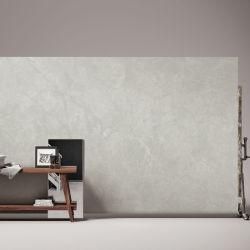 소결 스톤 인기 있는 라이트 시멘트 그레이 인공 대리석 패널 키친 거실 인테리어 장식 벽 배경 천연 광택 매트 표면 사용자 지정