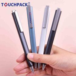 Förderndes Qualitäts-Geschäfts-Geschenk-Aluminiumklicken-Luxuxmetallkugel-Feder mit kundenspezifischem Firmenzeichen