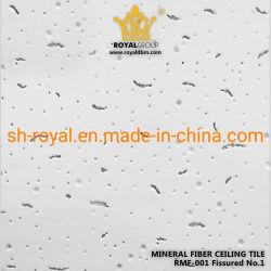 Mattonelle minerali acustiche 600X600 del soffitto della fibra