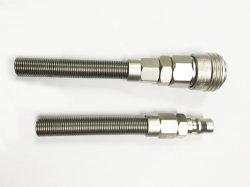 L'aria pneumatica del connettore coppia rapidamente per impedire l'incrinamento della spina dell'aria
