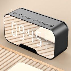 2020 de Klok van het Bureau van de Spiegel met van de Digitale LEIDENE van de Spreker Bluetooth Wekker van de Kalenders van de Wekker de Lichte FM van het Bureau & van de Lijst RadioElektronische