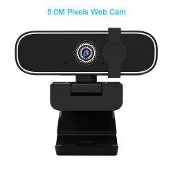 Facteur de gros 5,0 Méga Pixels Webcam Calculateur de caméra PC USB Pièces pour pilote de webcam USB libre de la sécurité Web caméra vidéo IP avec cache de confidentialité