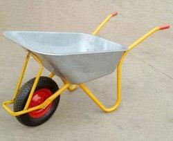 Строительство оцинкованных колеса Барроу, гальванизированные Wheelbarrow, сельскохозяйственного инвентаря колеса Барроу для Ганы на рынок