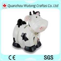 記念品の樹脂のギフト牛デザイン貯金箱の樹脂の銭箱
