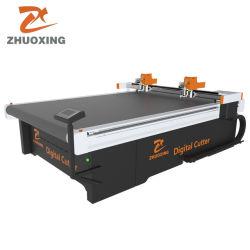 Machine van het Leer van de Stof van de Doek van China de Beste Automatische CNC Textiel Scherpe voor Snijder van de Plotter van het Patroon van de Kleding van het Kledingstuk de Materiële Scherpe met de Prijs van de Fabriek van Ce
