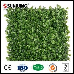 Commerce de gros frais PE Plastique usine artificielle pour la décoration de jardin