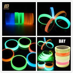 """1 """" Kleurrijke Zelfklevende Lichtgevende Gloed in de Donkere Photoluminescent VinylBand"""