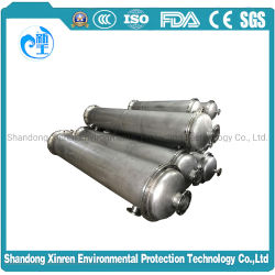 Оболочка из нержавеющей стали для охлаждения воздуха и трубопровод теплообменника для морских, продовольствия и химической, Powerplant