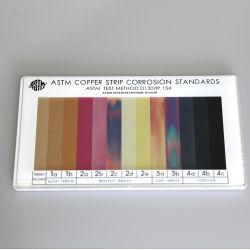 ASTM D130の銅はCorrosivenessテスト標準比色カラーカードを除去する