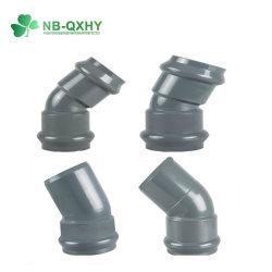 Pn10 PVC резиновое кольцо фитинга с прокладкой для орошения и водоснабжения!