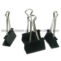 Cable de metal negro 32mm Binder clips