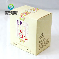 Boîte élégant pour les femmes de l'emballage de parfum de l'impression
