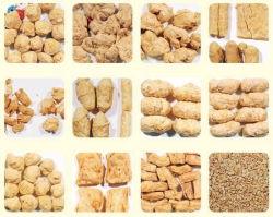 La proteína de soya texturizada