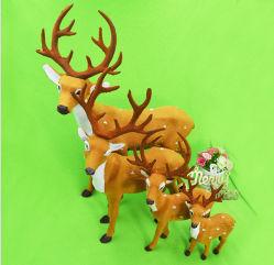 OEM рождественские украшения северных оленей и прогулочных судов для рекламных подарков