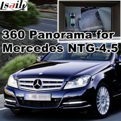 Vue arrière & 360 Panorama Interface pour système avec Mercedes-Benz Ntg-4.5 Lvds écran en fonte d'entrée de signal RVB