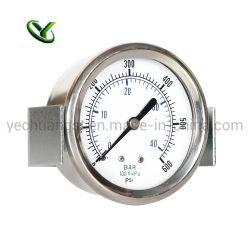 La pression en acier inoxydable de haute qualité Guage Manomter U Collier de serrage