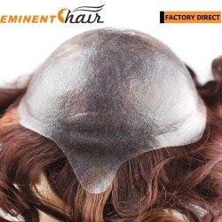hecho personalizado de la piel cabello virgen de la mujer Sistema de Cabello