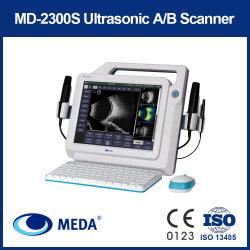 Портативный B ультразвукового сканирования a/b сканер для офтальмологии с цветным сенсорным экраном (MD-2300S)