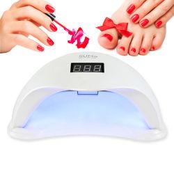 Professional 48W SOL5 LED Lámpara UV uñas de gel UV Uñas polaco pelo LED Lámpara