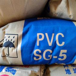 Grado de la suspensión de la resina de PVC SG5 S65D K67 para tubos de PVC y accesorios