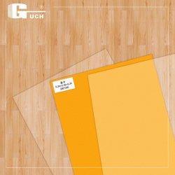 Película de recubrimiento revestimiento Blanco/Plata/Golden de inyección de tinta de impresión digital de plástico de la tarjeta de PVC