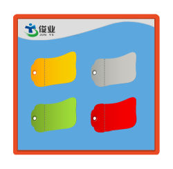 Giallo Grigio Verde Rosso E Altre Etichette Per La Stampa Di Documenti A Colori