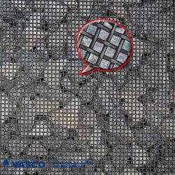 높은 탄소 강철 두 배 주름 스크린 철망사를 진동하는 쇄석기