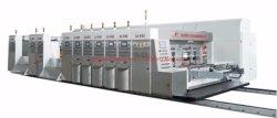 Kleurrijke Box Printing Slotting die Cutting machine met Polishing en Drogen